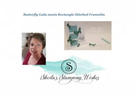 Butterfly Gala meets Rectangle Framelits