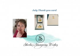 July Thank you Card
