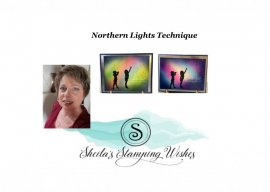 Northern Lights meet the Silhouette Scenes